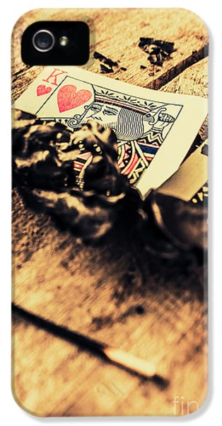 Damage iPhone 5 Case - Royal Flush by Jorgo Photography - Wall Art Gallery