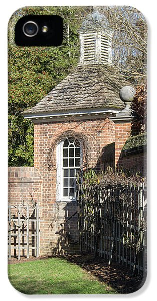 Royal Potting Shed IPhone 5 Case by Teresa Mucha