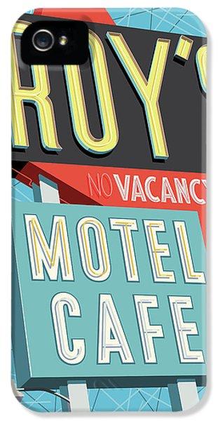 Roy's Motel Cafe Pop Art IPhone 5 Case