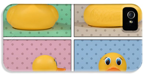 Rubber Ducky IPhone 5 Case by Scott Norris
