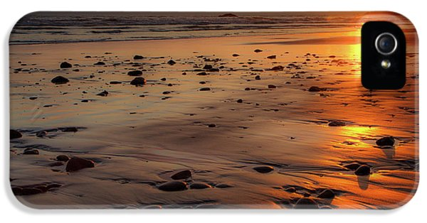 IPhone 5 Case featuring the photograph Ruby Beach Sunset by David Chandler