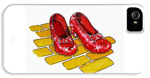 Ruby Slippers The Wizard Of Oz  IPhone 5 Case
