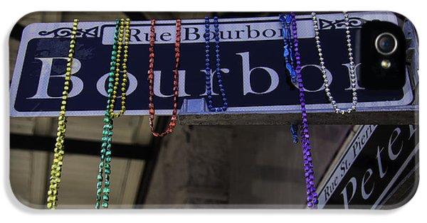 Rue Bourbon IPhone 5 Case