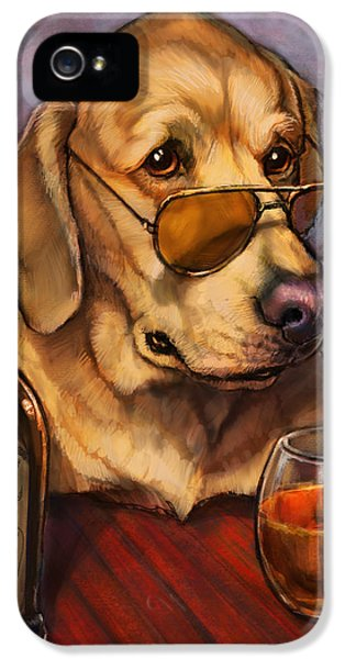 Ruff Whiskey IPhone 5 / 5s Case by Sean ODaniels
