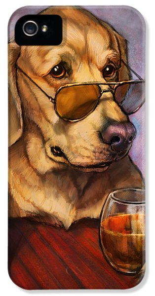 Ruff Whiskey IPhone 5 Case by Sean ODaniels