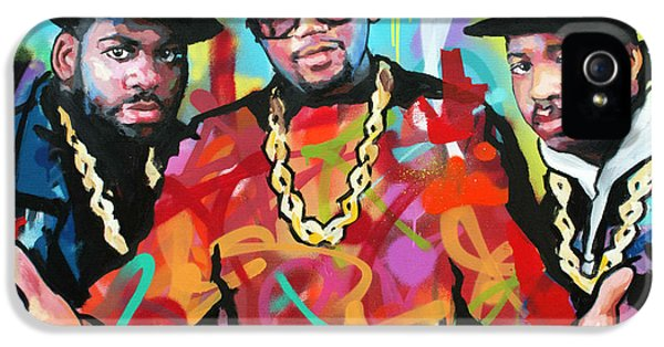 Jay Z iPhone 5 Case - Run Dmc by Richard Day