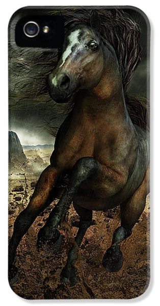Run Like The Wind IPhone 5 Case by Shanina Conway