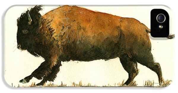 Running American Buffalo IPhone 5 Case