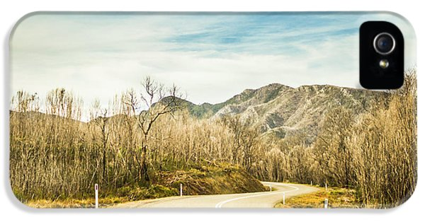 Rural Road To Australian Mountains IPhone 5 Case