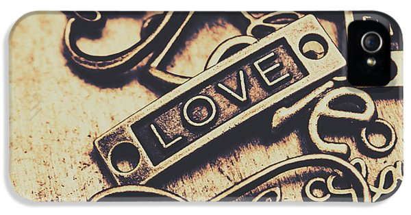 Pendant iPhone 5 Case - Rustic Love Icons by Jorgo Photography - Wall Art Gallery