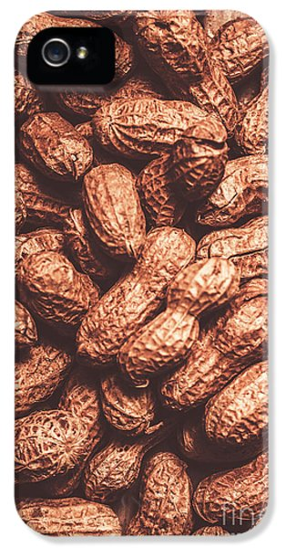 Rustic Nuts Background  IPhone 5 Case by Jorgo Photography - Wall Art Gallery