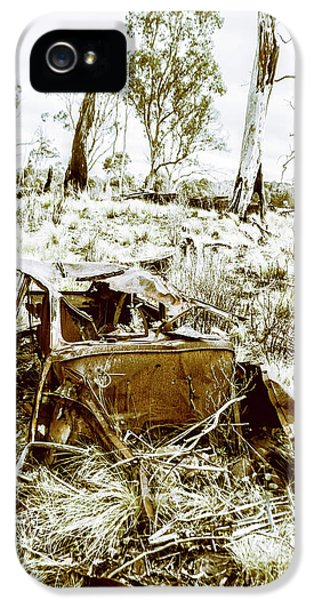 Damage iPhone 5 Case - Rustic Rural Decay by Jorgo Photography - Wall Art Gallery