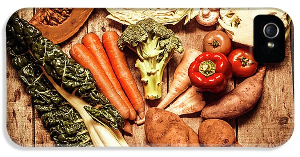Rustic Style Country Vegetables IPhone 5 Case by Jorgo Photography - Wall Art Gallery
