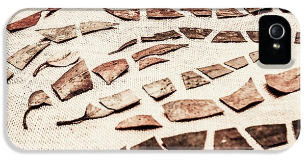 Rusty Metal Leaves Cut With Scissors IPhone 5 Case by Jorgo Photography - Wall Art Gallery