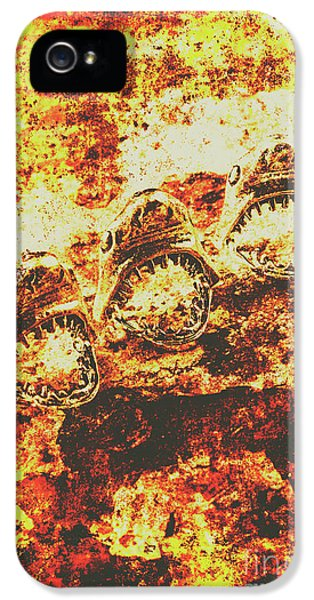 Rusty Shark Scene IPhone 5 Case by Jorgo Photography - Wall Art Gallery