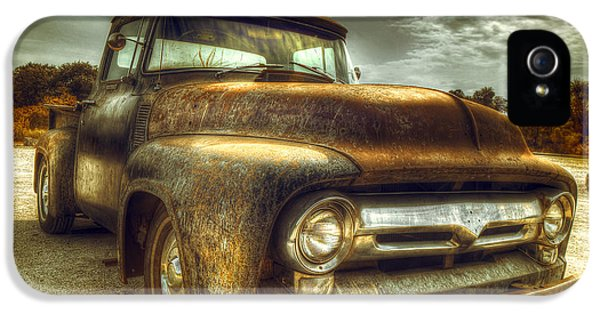Truck iPhone 5 Case - Rusty Truck by Mal Bray