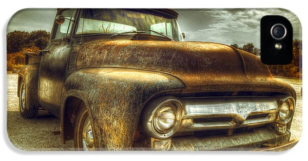 Rusty Truck IPhone 5 Case by Mal Bray