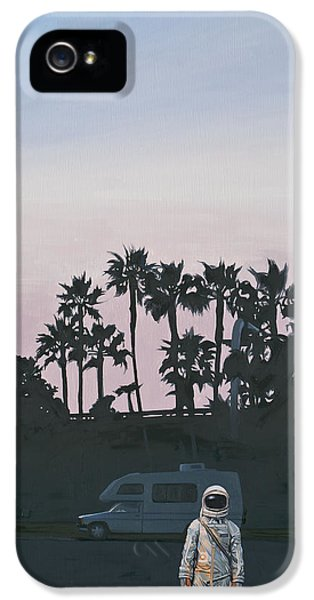 Science Fiction iPhone 5 Case - Rv Dusk by Scott Listfield