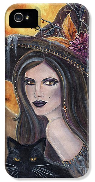 Sable And Salem Halloween Witch IPhone 5 Case