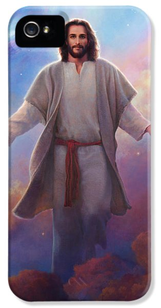 Sacred Space IPhone 5 Case by Greg Olsen