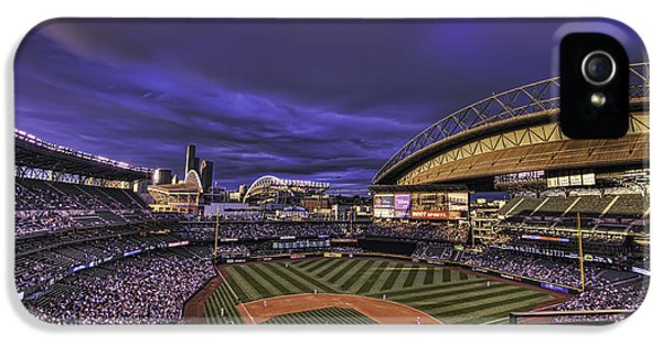 Ballpark iPhone 5 Cases - Safeco Field iPhone 5 Case by Dan McManus