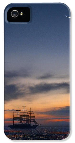 Sailing To The Moon IPhone 5 Case