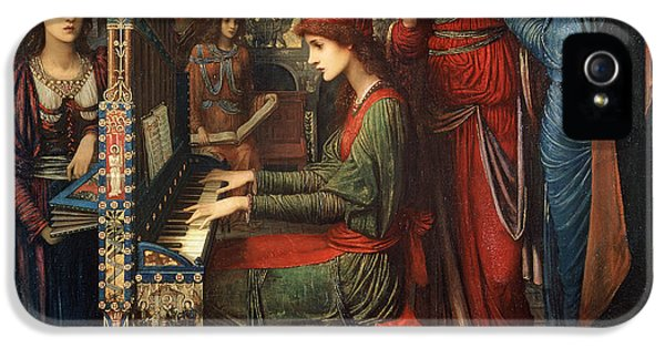 Saint Cecilia IPhone 5 Case by John Melhuish Strudwick