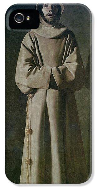 Saint Francis IPhone 5 Case by Francisco de Zurbaran
