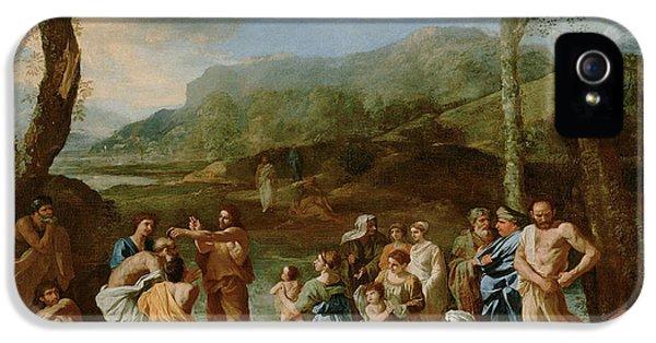 Saint John Baptizing In The River IPhone 5 Case