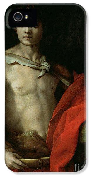 Saint John The Baptist  IPhone 5 Case by Andrea del Sarto