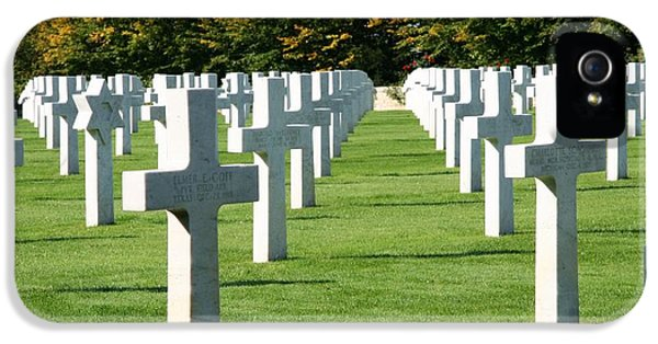 Saint Mihiel American Cemetery IPhone 5 Case by Travel Pics