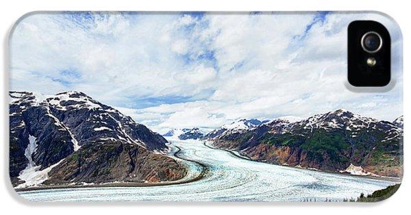 Salmon Glacier IPhone 5 Case by Heidi Brand