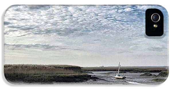 Salt Marsh And Creek, Brancaster IPhone 5 Case