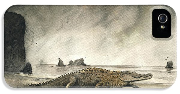 Saltwater Crocodile IPhone 5 Case