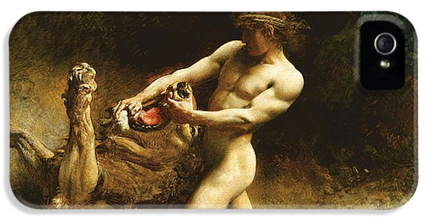 Samson's Youth IPhone 5 / 5s Case by Leon Joseph Florentin Bonnat