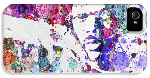 Samuel L Jackson Pulp Fiction IPhone 5 Case by Naxart Studio
