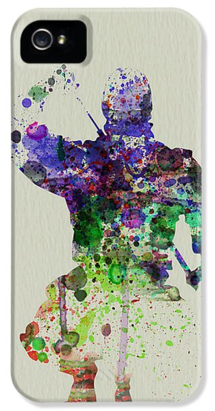 Samurai IPhone 5 Case by Naxart Studio