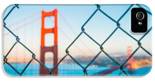 San Francisco Golden Gate Bridge IPhone 5 Case by Cory Dewald