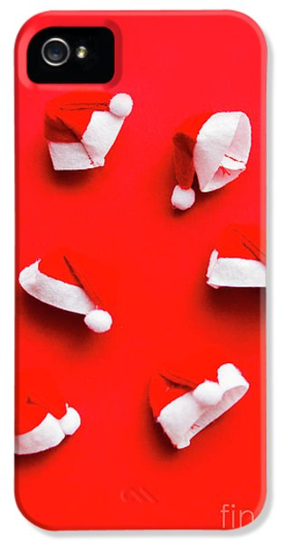 Santa Hat Party IPhone 5 Case by Jorgo Photography - Wall Art Gallery