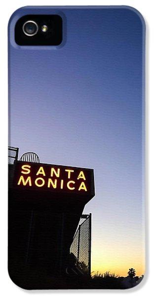 Santa Monica Sunrise IPhone 5 Case