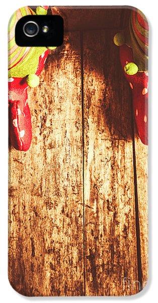 Elf iPhone 5 Case - Santas Little Helper by Jorgo Photography - Wall Art Gallery