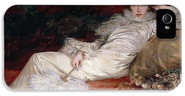 Sarah Bernhardt IPhone 5 Case by Georges Clairin