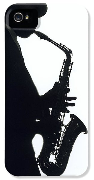 Saxophone iPhone 5 Case - Sax 2 by Tony Cordoza