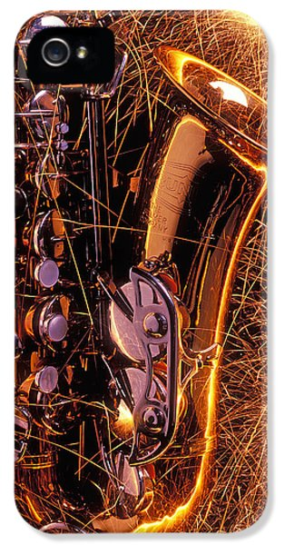 Sax With Sparks IPhone 5 Case