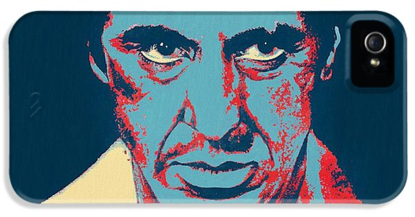 Scarface Pop Art IPhone 5 / 5s Case by Dan Sproul