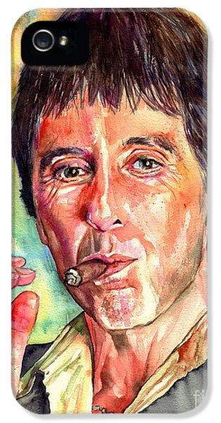 Harlem iPhone 5 Case - Scarface by Suzann's Art