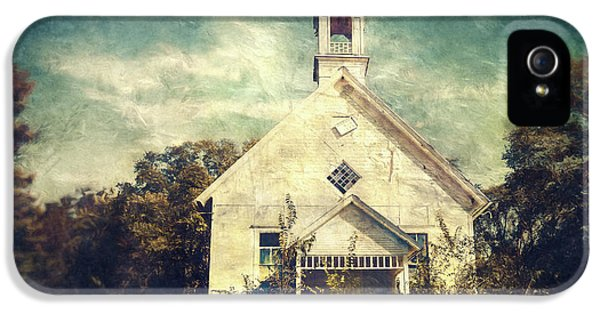 Schoolhouse 1895 IPhone 5 Case by Scott Norris
