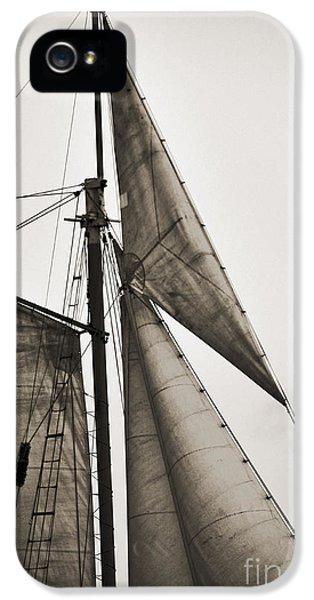 Schooner Pride Tall Ship Yankee Sail Charleston Sc IPhone 5 Case by Dustin K Ryan
