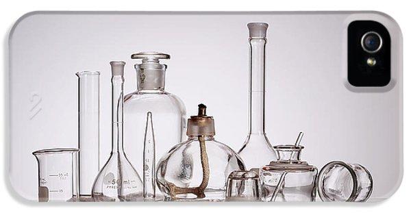 Scientific Glassware IPhone 5 Case by Tom Mc Nemar