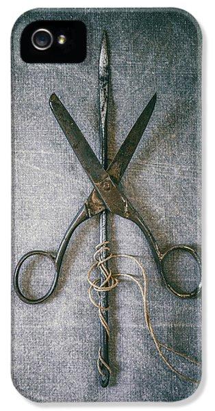Scissors And Needle IPhone 5 Case